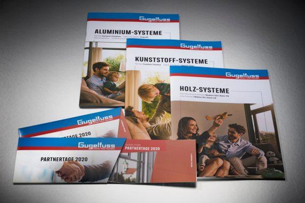 Diverse Broschueren, A4 und Din Lang