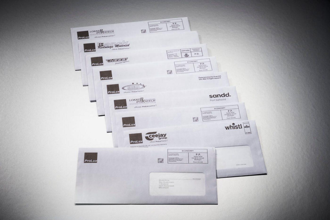 Mailing mit Prospekt und personalisiertem Bestellformular