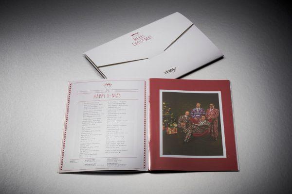 Weihnachtsbooklets mit CD